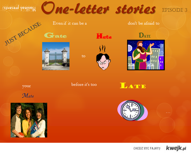 one-letter story, ep. 3