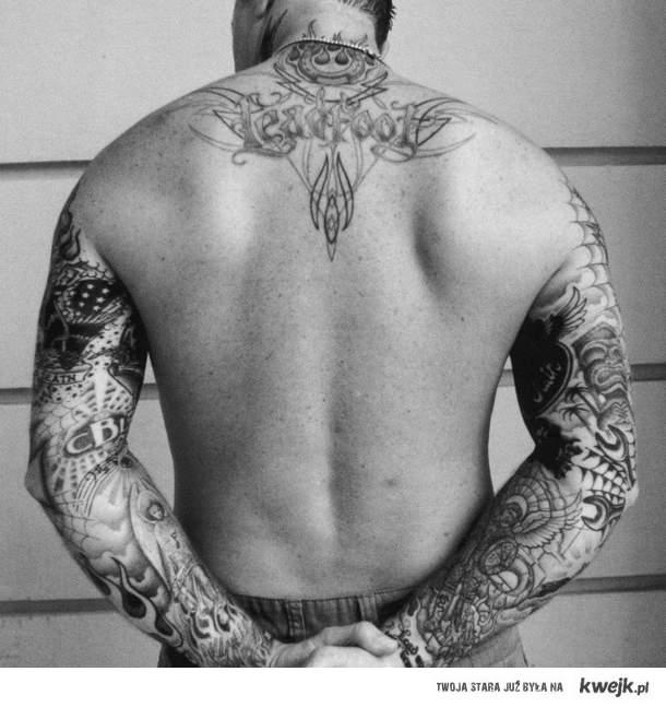 James Hetfield's back
