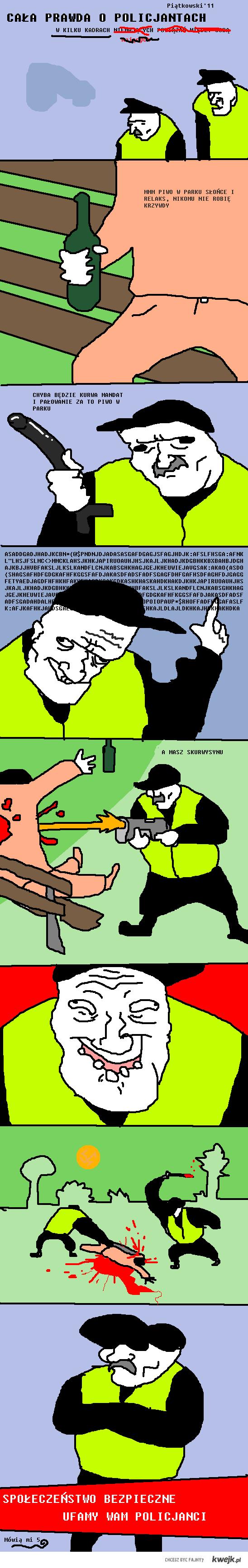 Policjanci - cała prawda