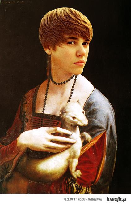 Justin B with weasel