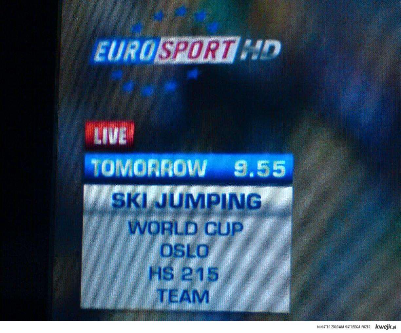 Eurosport tworzy nowe skocznie