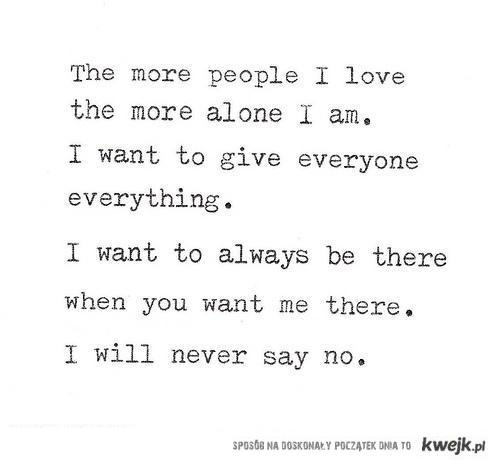 keep being nice...