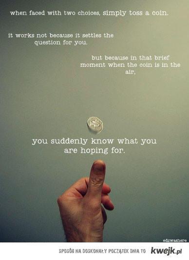 coin toss