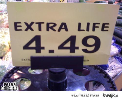 nie ma to jak extra life!