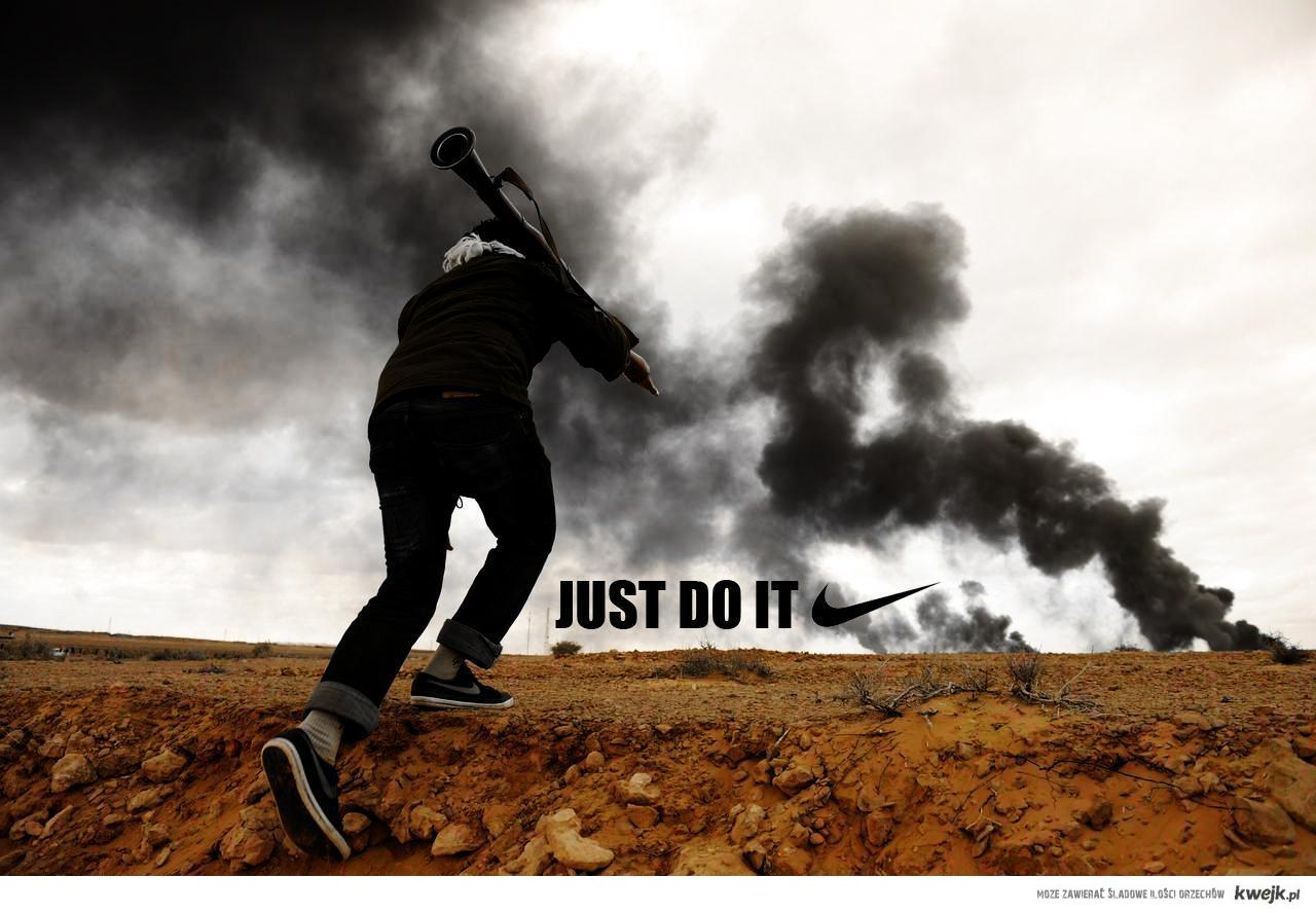 Just Do It Libian Nike Commercial