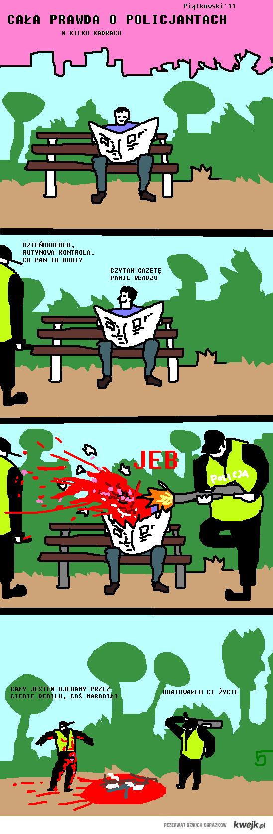 Policjanci - cała prawda 6