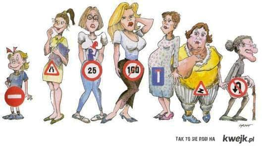 Znaki, Kobiety
