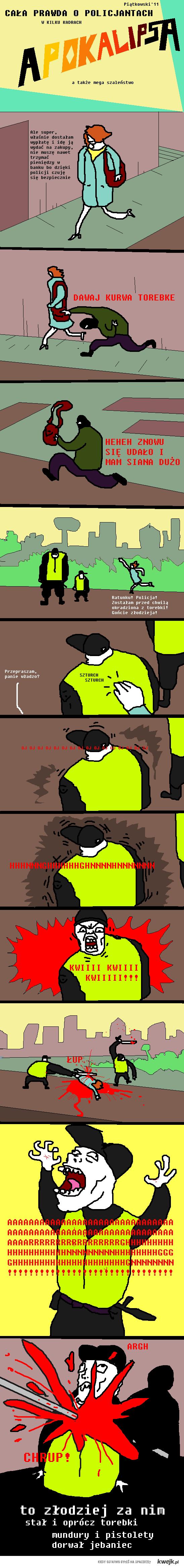 Policjanci - cała prawda 7
