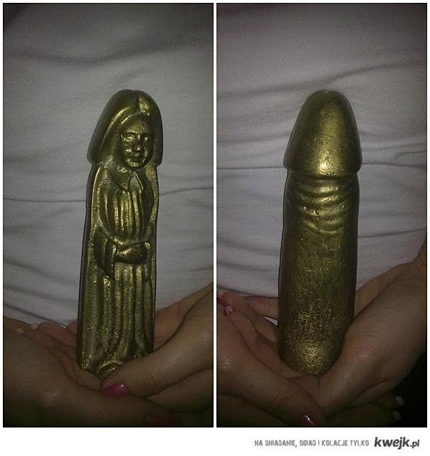 posażek nie takiej najświętszej Maryi