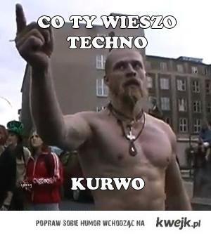 Coty wiesz o techno KURWO