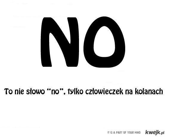 "Słowo ""NO"""