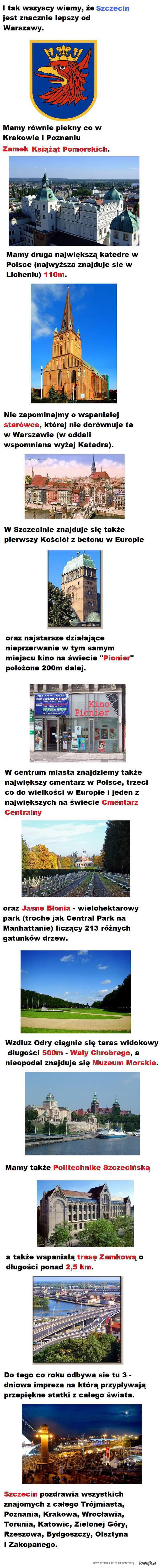 Wszystko co najlepsze w Szczecinie