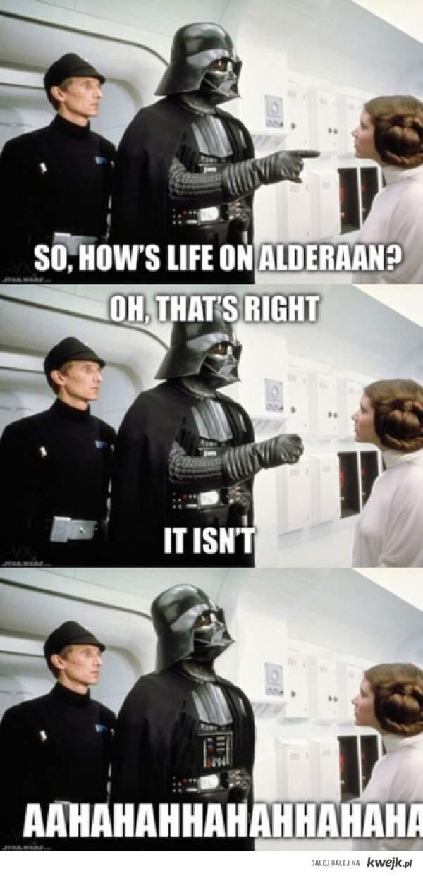 Darth Vader - Stary kawalarz.