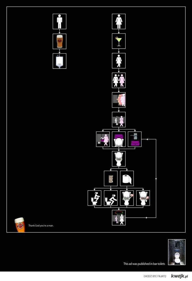 Kobieta i facet po piwie