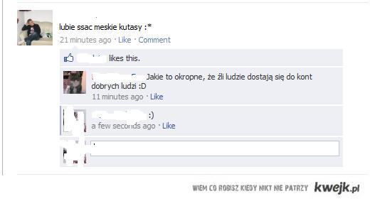 Włam na konto FB:)