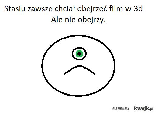 Stasiu i film 3d