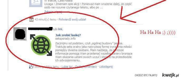 życiowe porady facebook'a