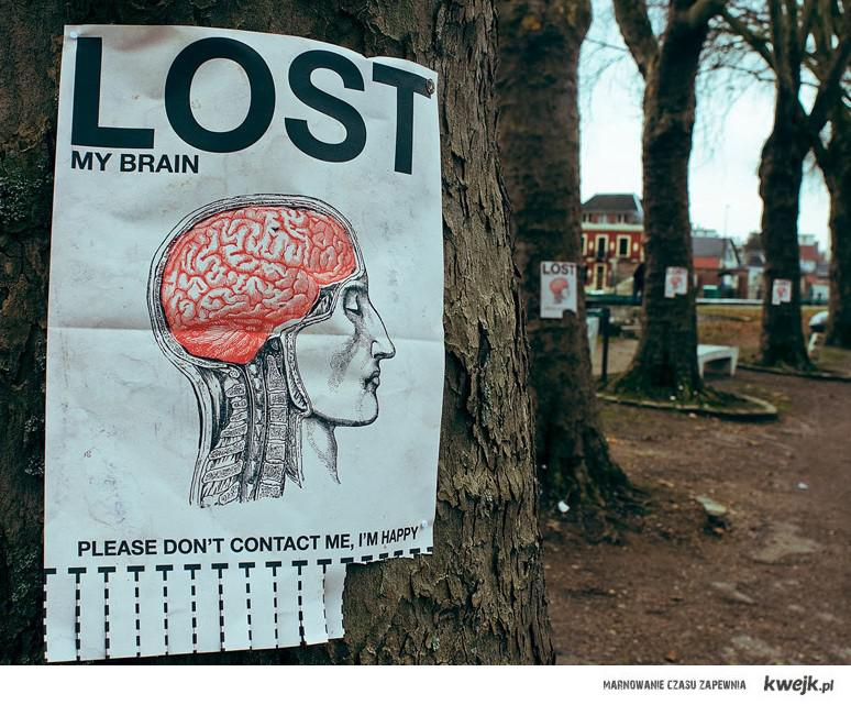 Lookin for brain