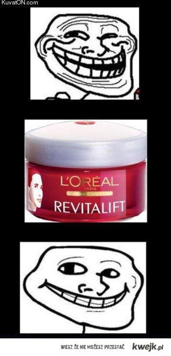 loreal trollface