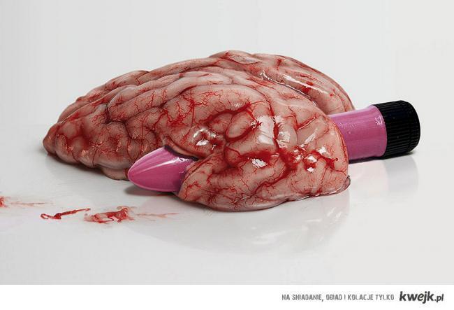 mózg i wibrator