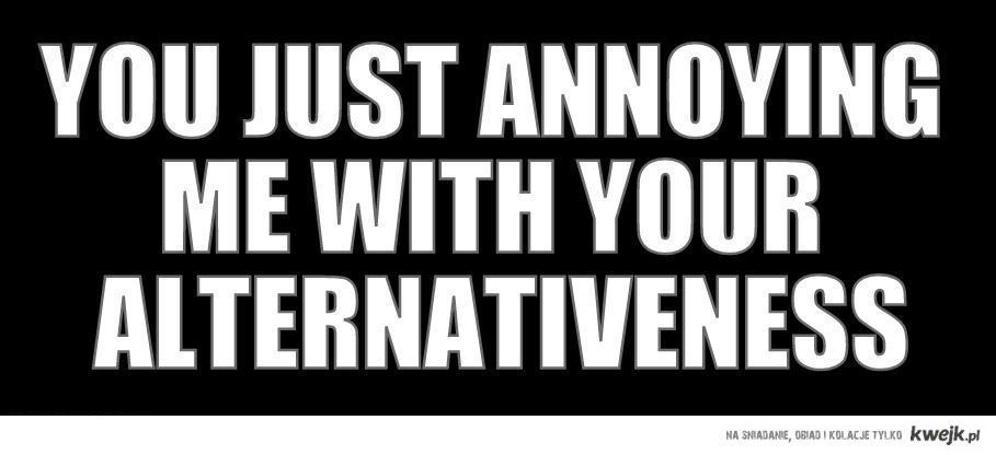alternativeness