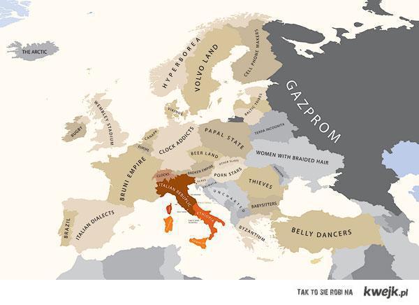 Europa wg Italii