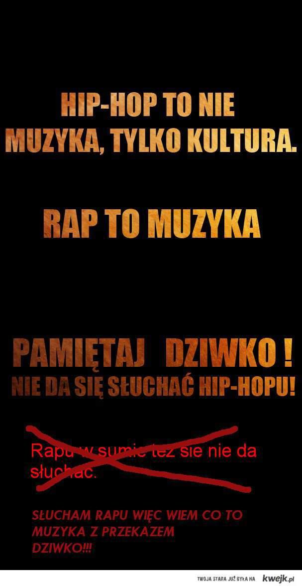 słuchajcie rapu