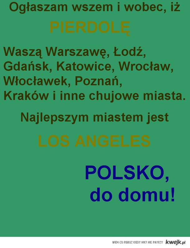 do domu Polsko