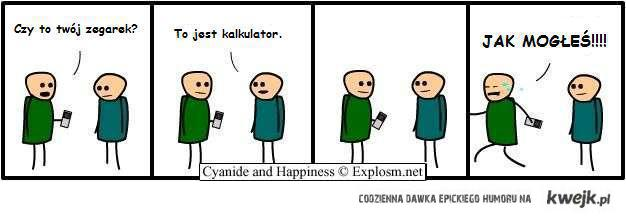 Cyanide and Happiness - Kalkulator