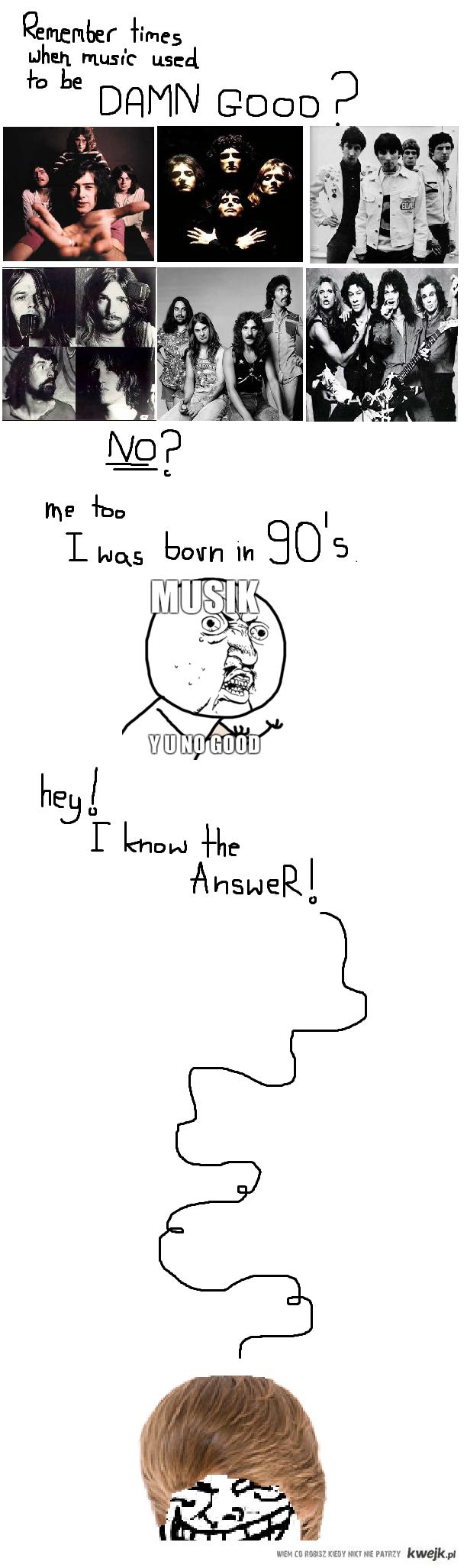 Musik Y U  No GOOD