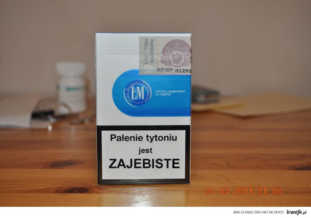Palenie jest