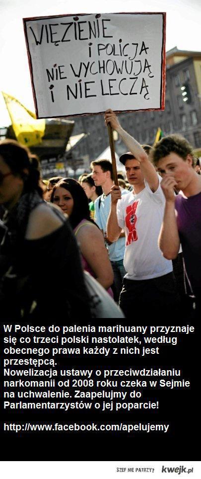 Razem możemy zmienić najbardziej restrykcyjne prawo narkotykowe w Unii Europejskiej.