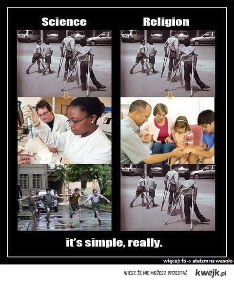 nauka vs. religia