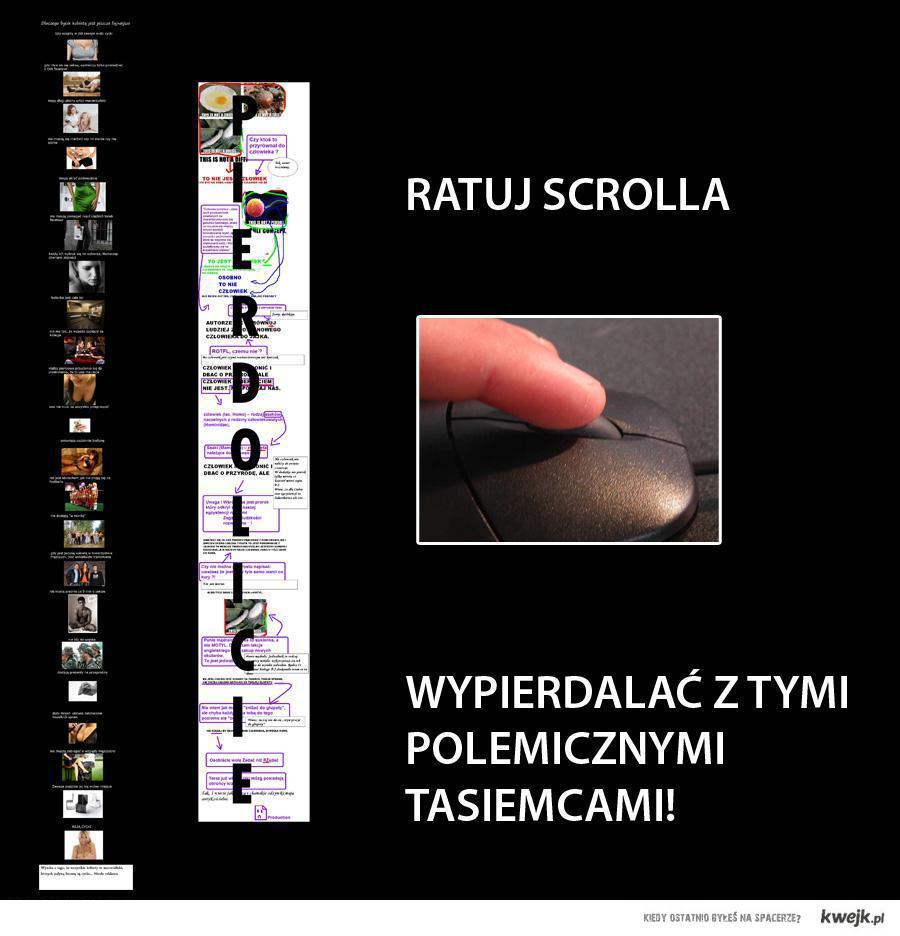 Ratuj Scrolla