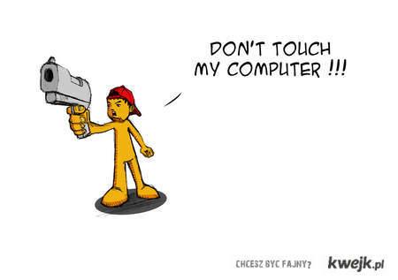 nie-dotykac