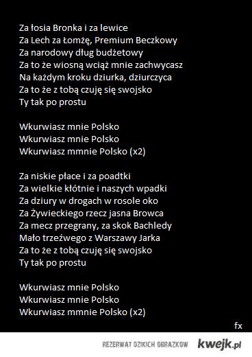 Kocham cie polsko!