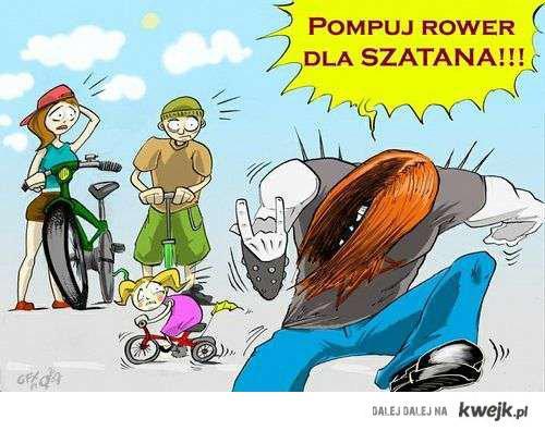 pompuj rower dla szatana