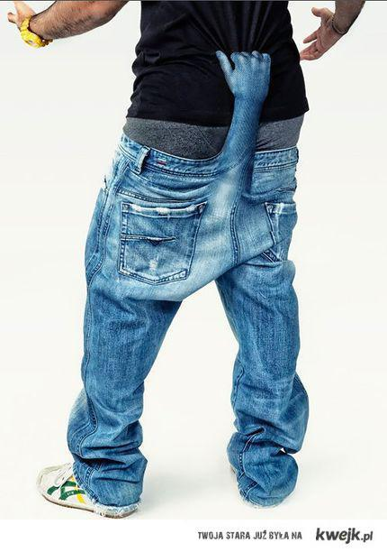 spodnie z dupy