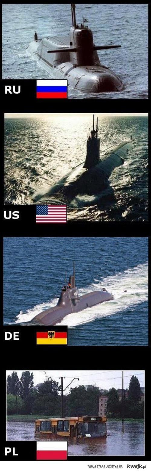 Polacy nie gęsi i też mają okręt podwodny.