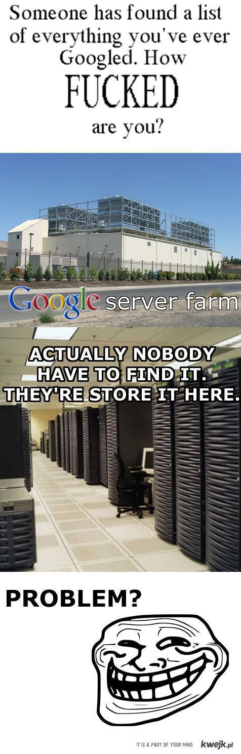 google problem?