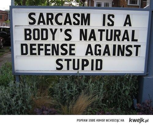 sarcasm is...