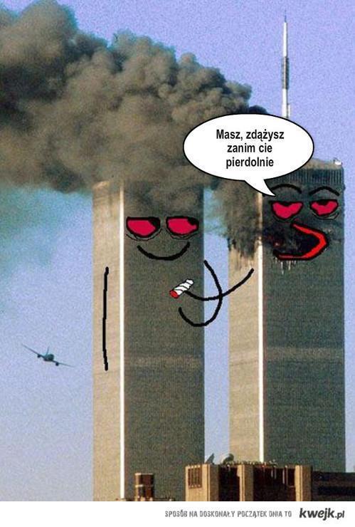 wieże i palenie