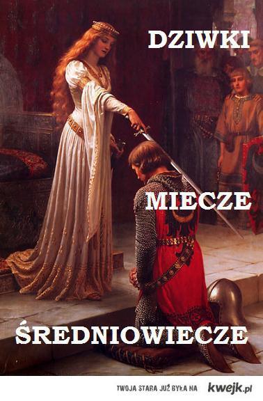 Dziwki Miecze Średniowiecze