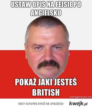 british angielski facebook opis