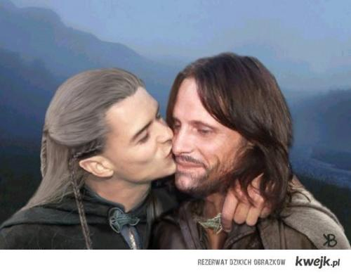 Aragorn i Legolas