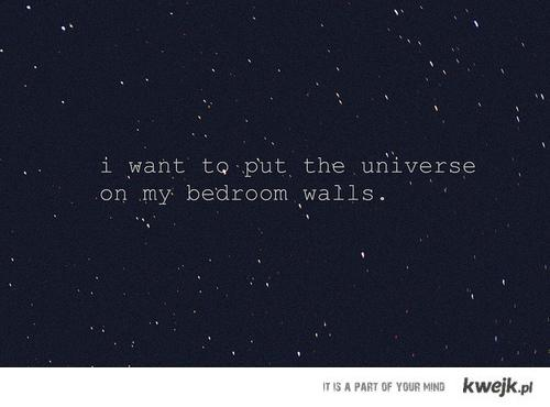 i want universe
