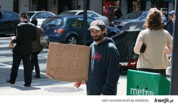 Wiele uśmiechów dla bezdomnego!