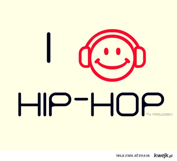 słucham hip-hopu
