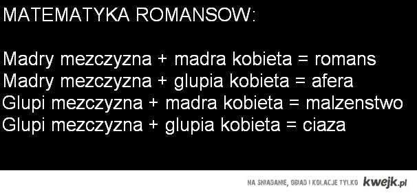 Matematyka Romansów