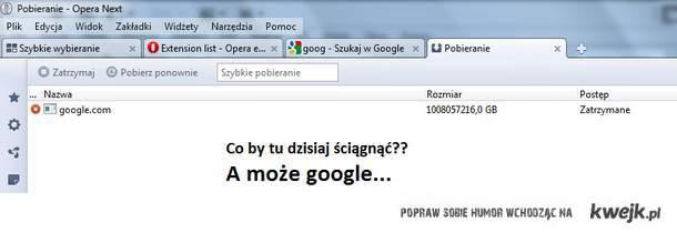 google downloading...